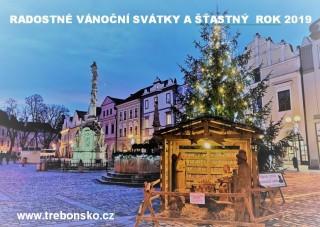 Radostné vánoce a šťastný nový rok 2019