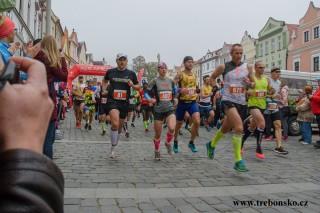 19.10. Třeboňský maraton (a půlmaraton)