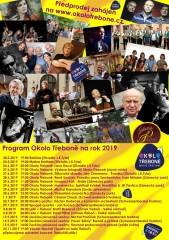 Festival Okolo Třeboně - plakát 2019