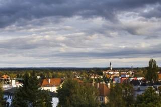 Třeboň - pohled na město
