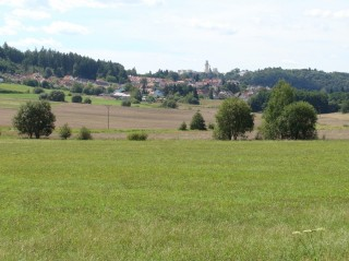 Město HLuboká nad Vltavou