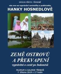 Přednáška o cestě po  Indonésii