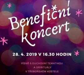 Benefiční koncert v kostele - tři sbory