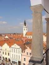 Třeboň z věže radnice - video