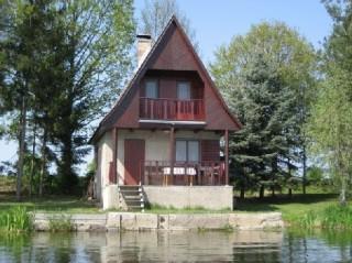 Chata u Spolského rybníka
