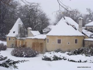 Bývalé opevnění Třeboně a katovny