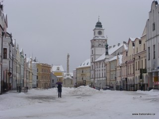Masarykovo náměstí v zimě