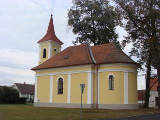 Kostelík sv. Jana Nepomuckého Lužnice
