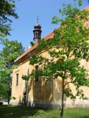 Kostel Zasnoubení panny Marie v Mláce