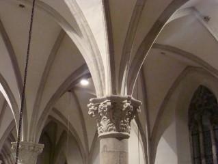 Kostel P. Marie Královny a sv. Jiljí - detail