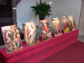 Oltářní desky Mistra Třeboňského