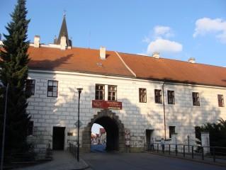 Dlouhá chodba nad Budějovickou bránou