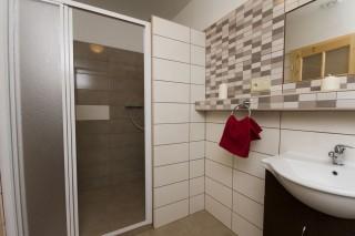 Koupelna v penzionu