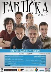 Partička v Třeboni - plakát