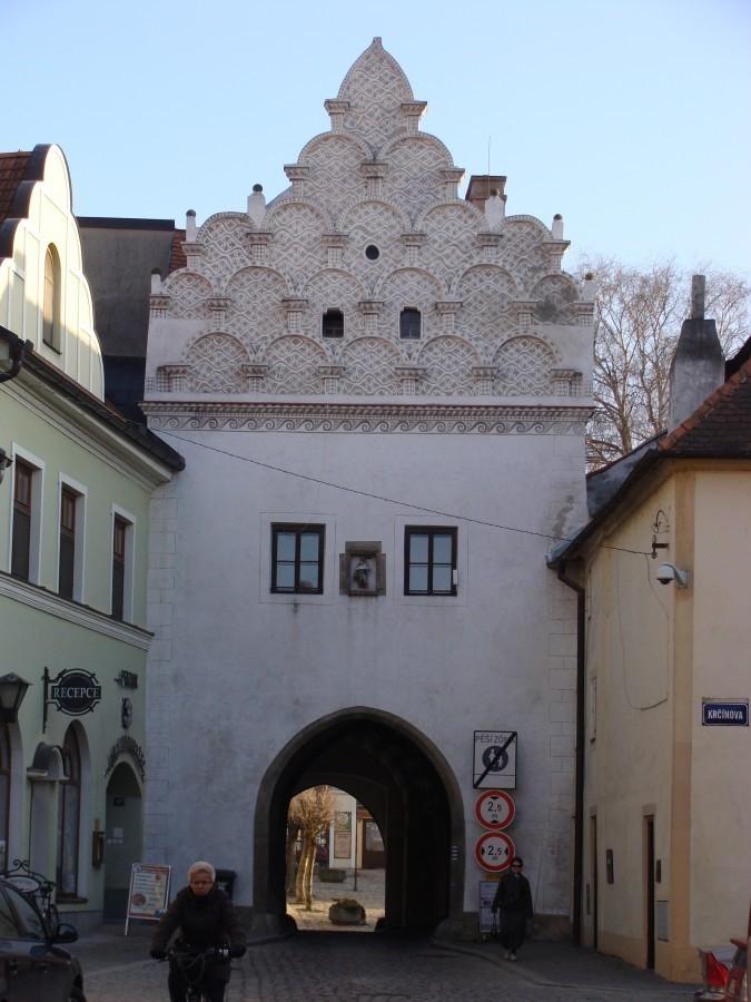 Bildergebnis für třeboň svinenská brána